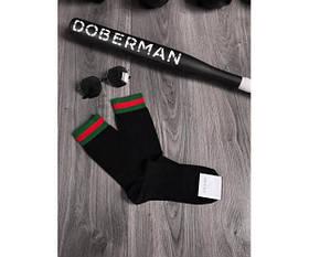 Шкарпетки gucci classik black 22-1.