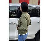 Жіноча куртка замшева Philipp Plein Green 6-2., фото 3