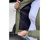 Жіноча куртка замшева Philipp Plein Green 6-2., фото 4