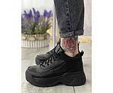 Жіночі кросівки fila black 2-0., фото 2
