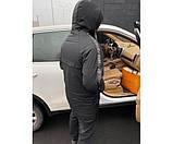 Sale мужская куртка off black grey  15-2+, фото 3