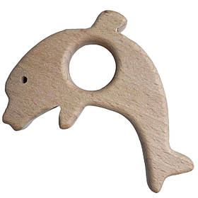 Бук грызунок Дельфин (деревянные), прорезыватель для зубов