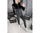 Женский велюровый  костюм Doberman  platinum 1-2+, фото 2