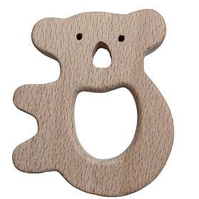 Бук грызунок  Коала на дереве (деревянные), прорезыватель для зубов