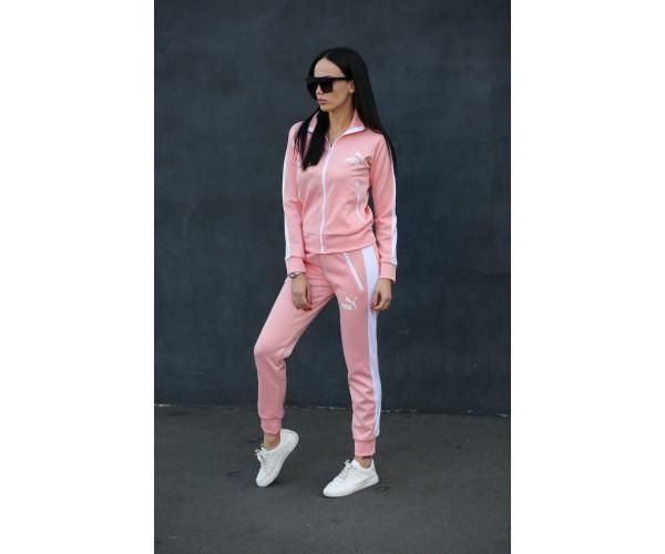 Женский спортивный костюм Puma stoner pink 3-3+