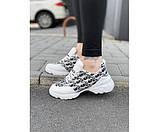 Жіночі кросівки dior white 32-1., фото 2
