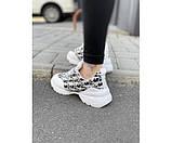 Жіночі кросівки dior white 32-1., фото 3