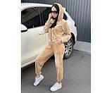 Женский велюровый костюм  peach 11-3.+, фото 2
