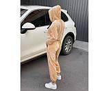 Жіночий велюровий костюм peach 11-3.+, фото 3