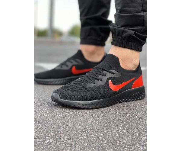 Кросівки tenesi black/red 7-0.+