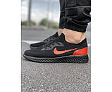 Кросівки tenesi black/red 7-0.+, фото 2
