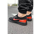 Кросівки tenesi black/red 7-0.+, фото 3