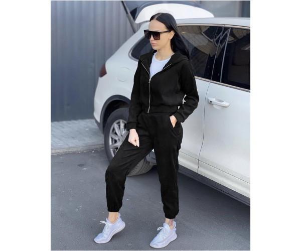 Жіночий вельветовий костюм black doberman 4-2+