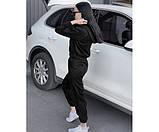 Жіночий вельветовий костюм black doberman 4-2+, фото 3
