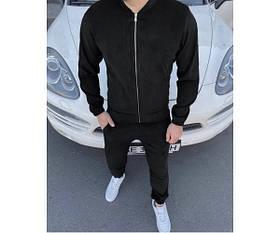 Спортивный костюм вельвет black  doberman 6-3+