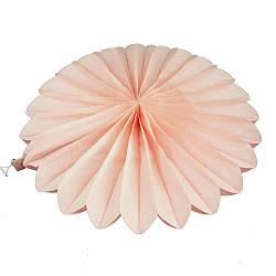 Веерный круг (тишью) 20см (персиковый 0012) 586684707