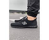 Кросівки NB total black 6-1, фото 2