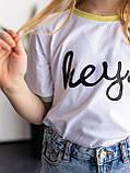 Дитяча футболка для дівчинки, фото 3