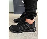 Кросівки asics black 14-3., фото 2