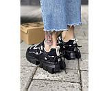 Женские кроссовки WDG black 1-3., фото 3
