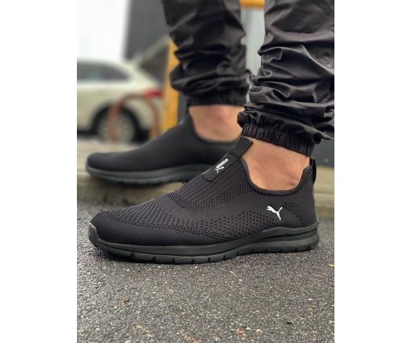 Кросівки puma black 29-2.