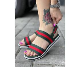 Жіночі сандалі gucci 22-2.+