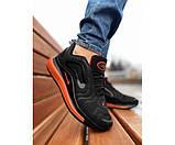 Кроссовки Nike 720 black orange 28-3, фото 2