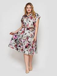 Женские платья миди Лето Весна Осень