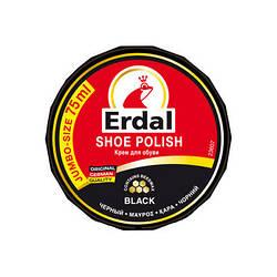 Крем для обуви черный 75 мл Shoe Polish Erdal 4001499160707