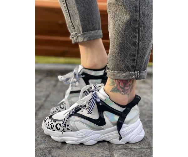 Жіночі кросівки safari grey 23-3+