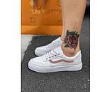 Жіночі кросівки vans pink 4-0., фото 2