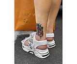 Жіночі сандалі off 3-0+, фото 3