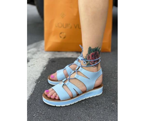 Женские сандали spartak blue 32-1.