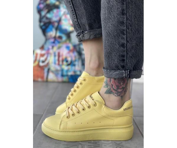 Женские кроссовки maq yellow 29-2