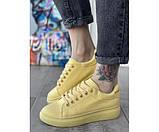 Женские кроссовки maq yellow 29-2, фото 2