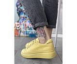 Жіночі кросівки maq yellow 29-2, фото 3
