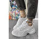 Жіночі кросівки skeleton white 27-1, фото 2