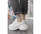 Жіночі кросівки skeleton white 27-1, фото 3