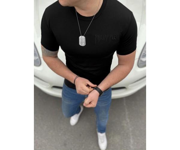 Мужская футболка plein skull 35-2+