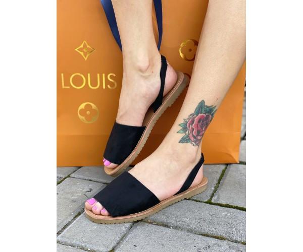 Жіночі сандалі liete black 13-2.