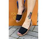 Жіночі сандалі liete black 13-2., фото 2