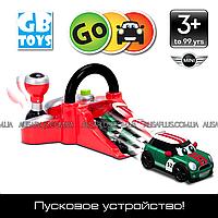 Пусковое устройство и трюковая машинка Go Mini Stunt Racer Launcher