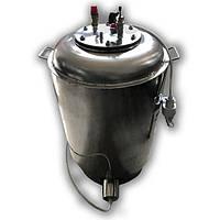 """Автоклав електричний з нержавіючої сталі на 100 банок + Водяне охолодження """"Престиж"""""""