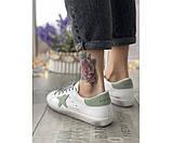 Жіночі кросівки golden grey 27-2, фото 3