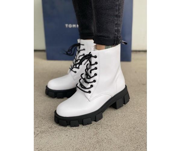 Жіночі черевики white 23-3+