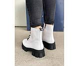 Жіночі черевики white 23-3+, фото 3