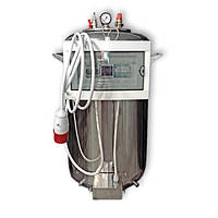 """Автоклав електричний з нержавіючої сталі (380В) на 100 банок + Водяне охолодження """"Престиж"""""""