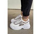 Жіночі кросівки fila leo 30-1+, фото 2