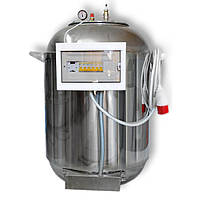 """Автоклав електричний з нержавіючої сталі (380В) на 185 банок + Водяне охолодження """"Престиж"""""""