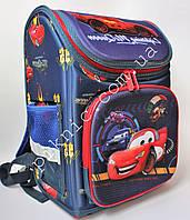 Ранец школьный каркасный Тачки Рюкзак портфель ранец ортопедический для мальчика 1-4 класс